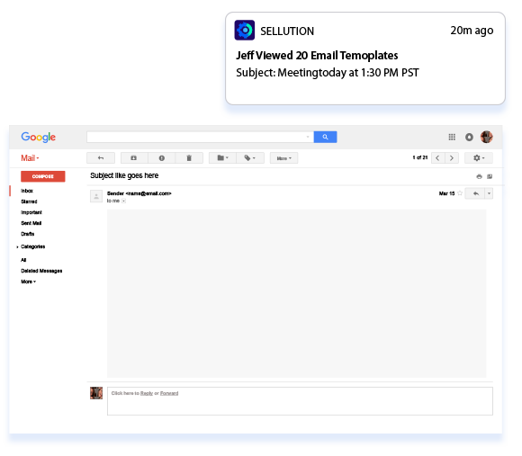 Document View Notifications