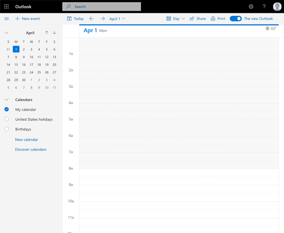 Outlook Calendar Sync